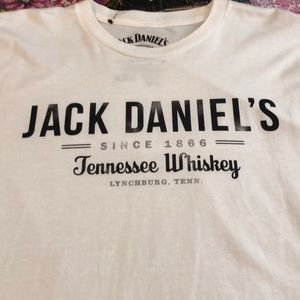 Jack Daniels NWT white T-shirt XXLBoutique, used for sale